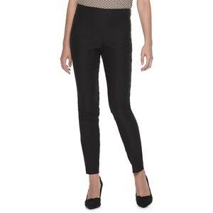 NWT Black ELLE Pull-On Skinny Pants XL